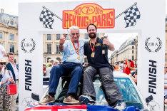 Gerry Crown & Matt Bryson Peking to Paris winners 2013 & 2019.