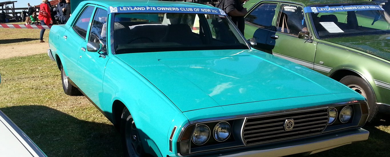 The Leyland P76 Owners Club Inc.